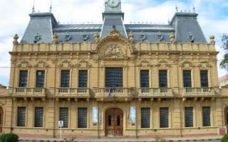 El hecho ocurrió en el Palacio Municipal. Foto: Nuevo Día Digital