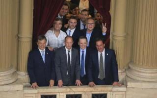 Asunción de Fernández: Los palcos bonaerenses con intendentes, dirigentes del peronismo y empresarios