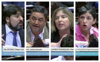 Acalorado debate por el proyecto de Ley Papel Prensa.