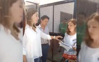 Video: Gremialistas docentes realizaron planteo a Vidal por el no llamado a paritarias