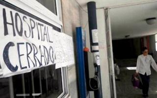 Nuevo paro en los hospitales provinciales.