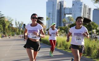 Temporada alta de running en Vicente López.