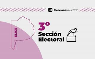 La tercera sección es la de mayor peso por su cantidad de electores.
