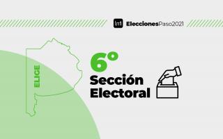 La sexta sección electoral cuenta con 22 distritos.