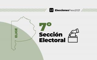 La séptima es la sección con menor cantidad de votantes.