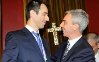 Junín: Petrecca prometió trabajar en conjunto con el designado ministro Mario Meoni