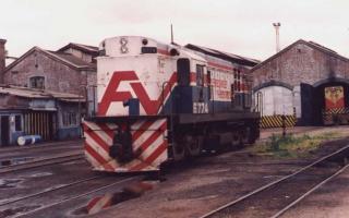 La disolución de Ferrobaires provocó que 1300 trabajadores pierdan sus puestos de trabajo. Foto: ferrocarrilesdelsud.blogspot.com