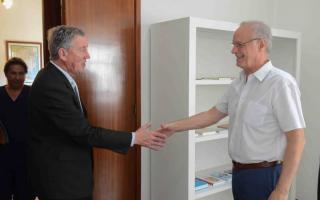 Pila: Walker se reunió con el ministro de Salud bonaerense, con medicamentos y regionalización en agenda