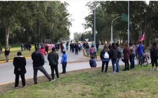 Hubo protestas este sábado y domingo