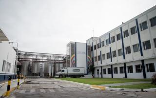 Es una de las cuatro plantas industriales que tiene en el país.