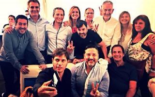 Con la consigna #Hay2019, políticos bonaerenses estuvieron en la cumbre peronista en San Luis
