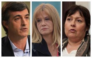 Esteban Bullrich, Verónica Magario y Graciela Ocaña, algunos de los pocos políticos de la Provincia que recordaron a los 44 tripulantes en las redes sociales.