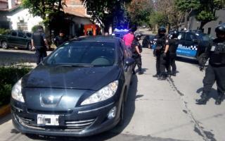 """Detuvieron dos """"politruchos"""" en Vicente López"""