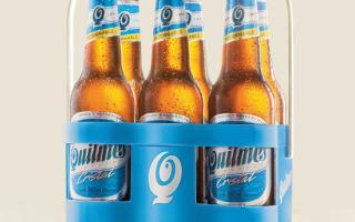 Quilmes lanza el envase retornable del porrón de 340cc