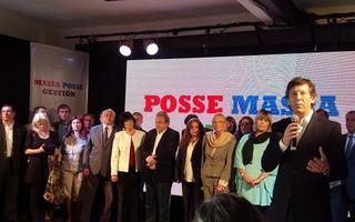 Posse presentó sus candidatos en Boulogne. Foto: ZonaNorteDiario