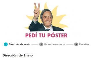 Entregarán posters de Néstor Kirchner a domicilio en Provincia a diez años de la muerte del expresidente