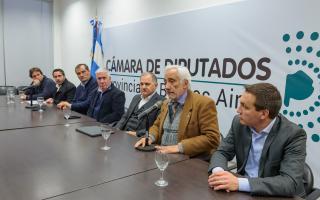 Presentaron un proyecto sobre la situación de la universidad Arturo Jauretche.