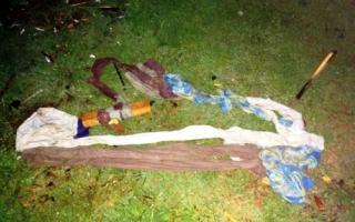 Los guardias secuestraron una soga hecha con sábanas. Foto: La Auténtica Defensa.