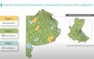 Covid-19 en Provincia: En qué fase está mi municipio, al 26 de enero