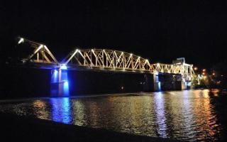 El nuevo puente será inaugurado el próximo viernes. Foto: Señal Bonaerense