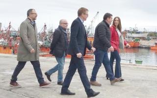 Vidal en Mar del Plata: Anunció dos líneas de crédito para sector pesquero y la industria naval