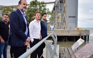 Federico Susbielles asumió como nuevo presidente del Consorcio del Puerto de Bahía Blanca