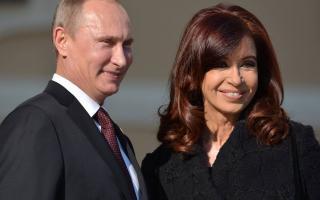 Cristina será recibida por Putin en Moscú.