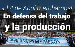 Por la crisis, empresarios marchan pidiendo #NiUnaPymeMenos también con eje en la situación del Conurbano