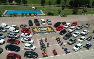 Se secuestraron 45 autos de alta gama, 12 motocicletas, una moto de agua. Foto: Ministero de Seguridad.
