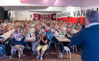 Mario Negri encabezó el encuentro radical