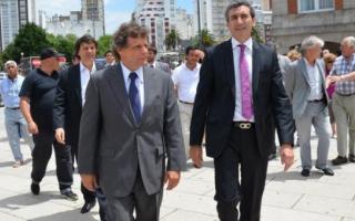 Randazzo y Pulti presentan la SUBE en la ciudad.