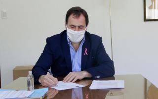 El intendente Matías Rappallini.