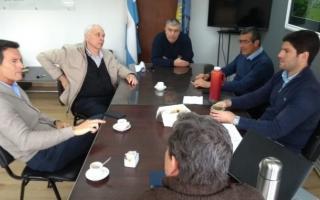 """Los representantes municipales se reunieron con la empresa eléctrica """"EDEA"""""""