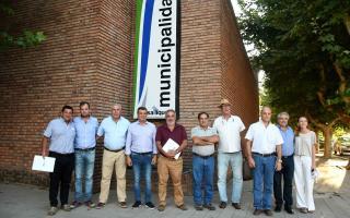Intendentes del oeste bonaerense llevaron adelante el primer encuentro de Regionalización del año