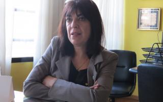 Isabel Reinoso, titular del Colegio de Farmacéuticos.
