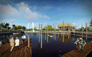 Ambicioso anteproyecto para convertir en Parque público al Puerto de San Isidro