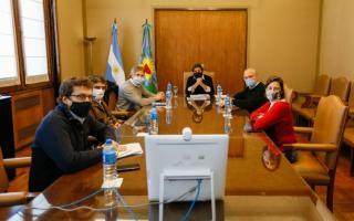 Reunión de Jefes de gabinete y equipos de Provincia y la Ciudad