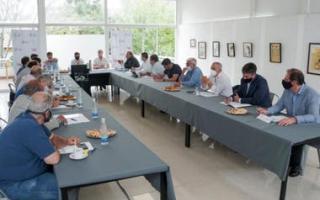 La reunión anterior fue en San Bernardo