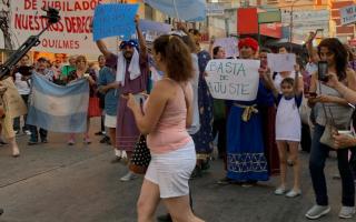 Protestaron hasta los Reyes Magos