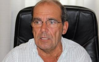 Moccero mostró su apoyo al proyecto de Marcelo Díaz. Foto: La Nueva Radio Suárez.