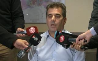 El ministro de Seguridad de la provincia, Cristian Ritondo