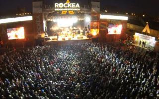 Se llevó a cabo la segunda semifinal del Rockea BA en Rosario. Foto: BAnoticias