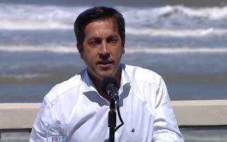 Rojas en conferencia de prensa