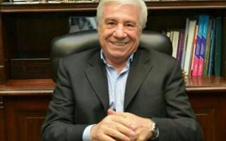Roque Cariglino no forma más parte del bloque de senadores del Frente Renovador.