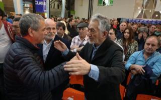 Rodríguez Saá en Avellaneda: Pidió un acuerdo programático de unidad antes de septiembre u octubre