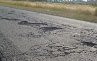 Las rutas provinciales, en estado deplorable.