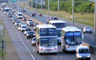 Un 13% más de vehículos viajaron hacia la Costa en comparación con 2016.