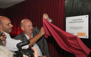"""La sala lleva el nombre """"Alfredo Alcón""""."""