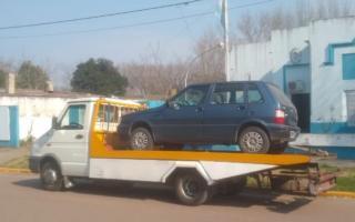 El auto fue secuestrado