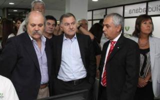 Julio Pereyra recibió al Ministro Granados.